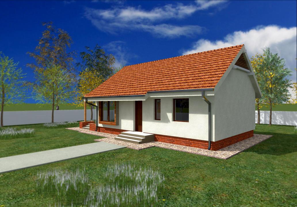 Proiect de casa cu parter 247