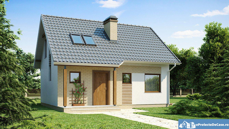 Proiect de casa cu mansarda 232
