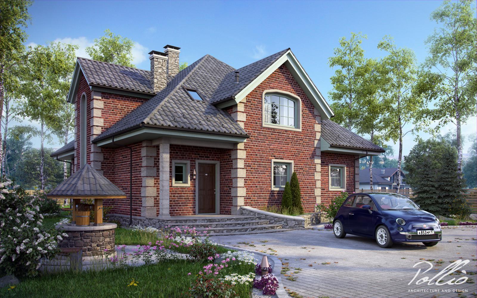 Proiect de Casa cu mansarda 317