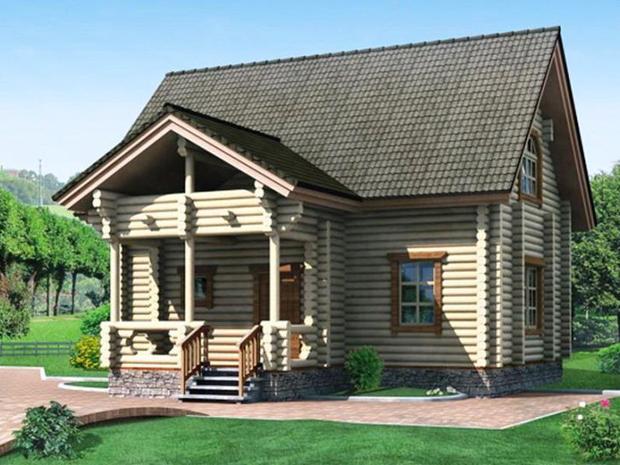 Proiect de Casa cu mansarda 363