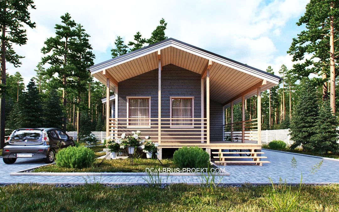 Proiect de Casa cu parter 335