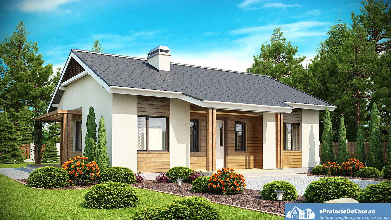 Proiect de Casa cu parter 303