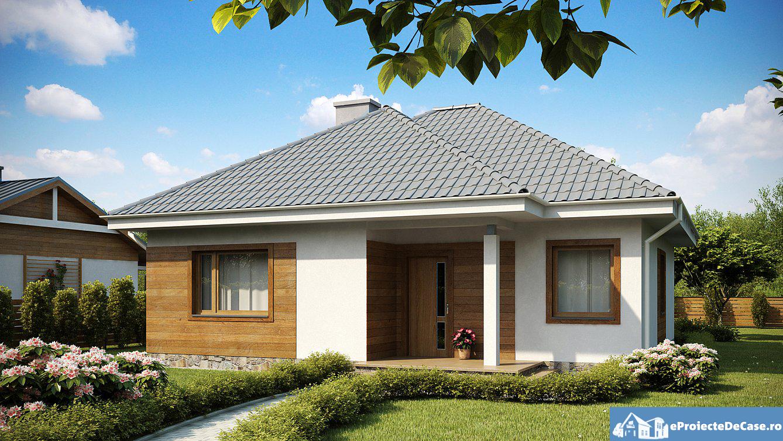 Proiect de Casa cu parter 304