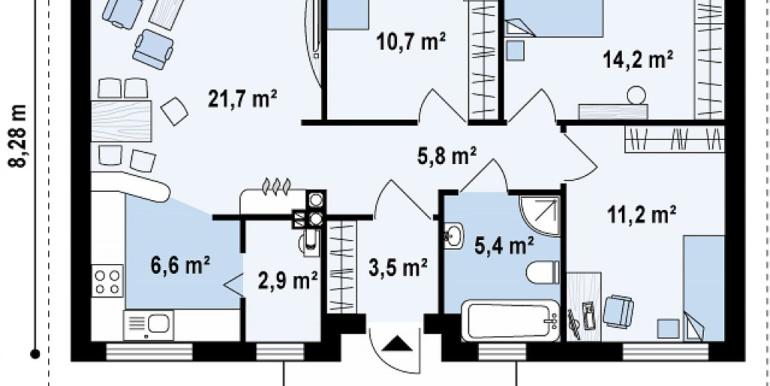 Proiect-de-casa-mica-Parter-7011-parter