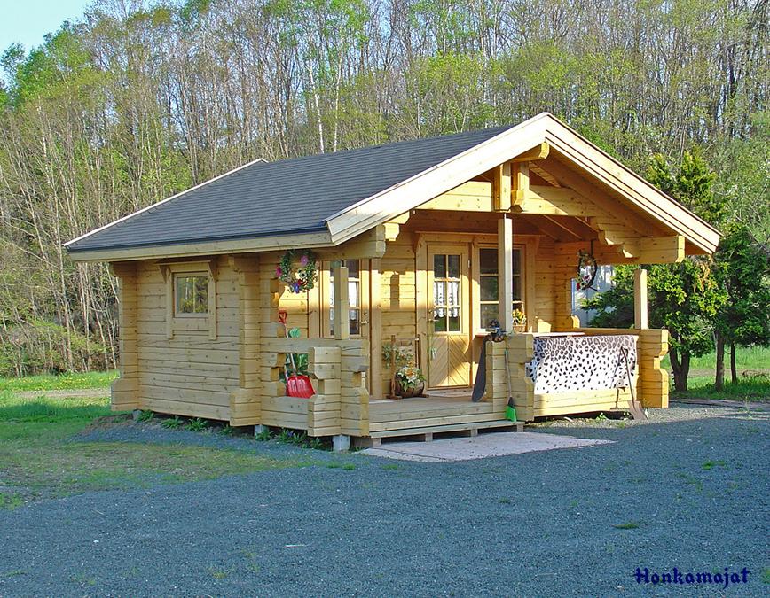 Proiect de Casa cu parter din lemn 320