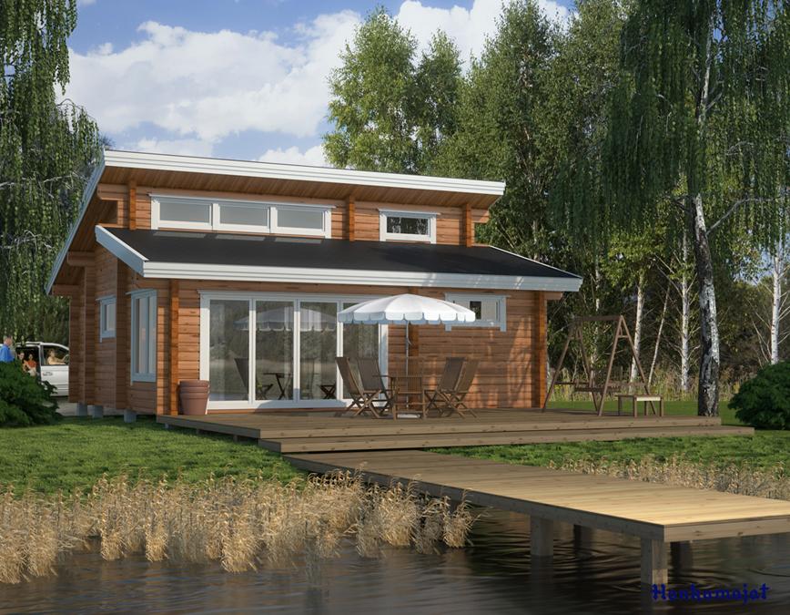 Proiect de Casa cu parter si mansarda 334