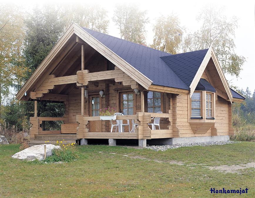 Proiect de Casa cu mansarda din lemn 325