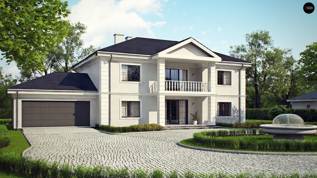 Proiect de Casa cu etaj si garaj pentru doua automobile 319
