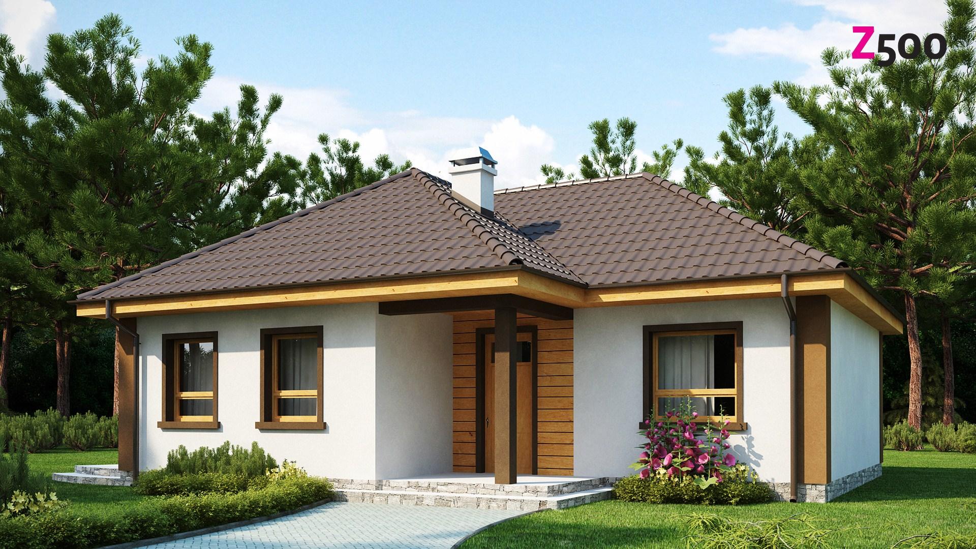 Proiect de Casa cu parter 338