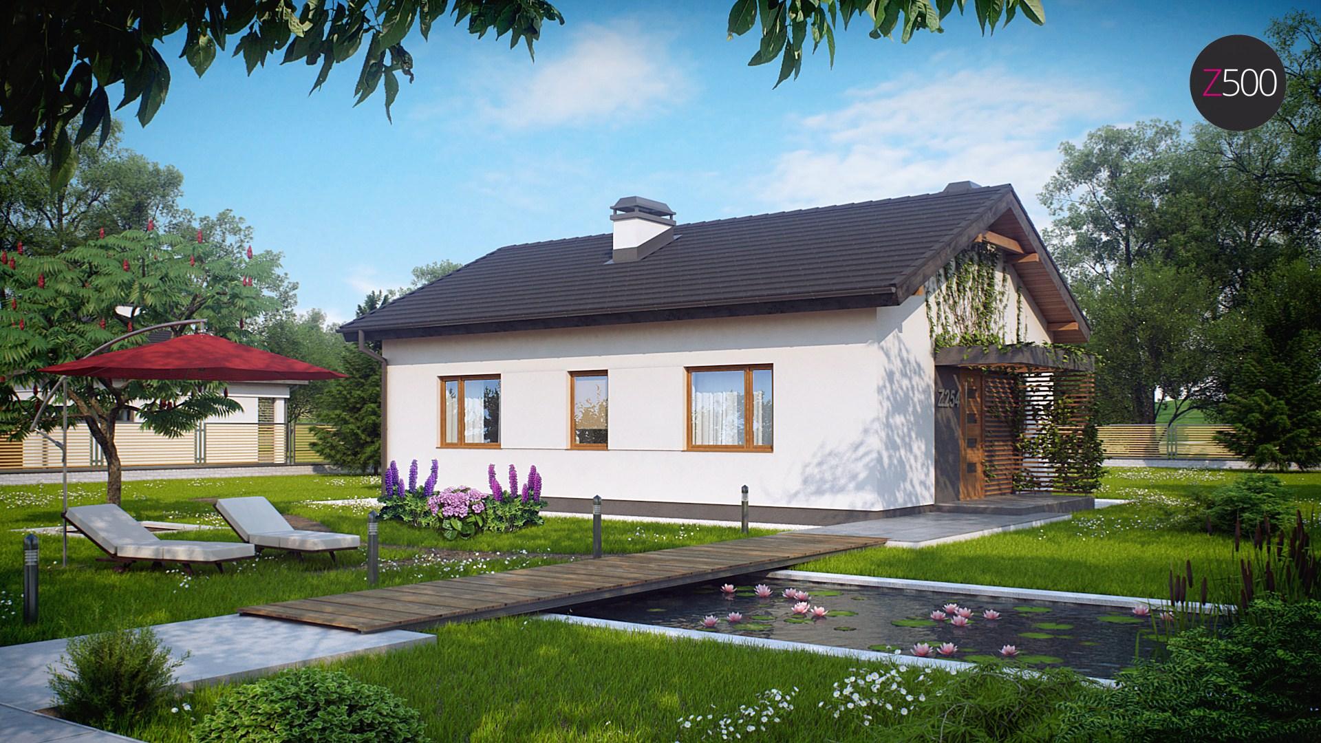 Proiect de Casa cu parter 339