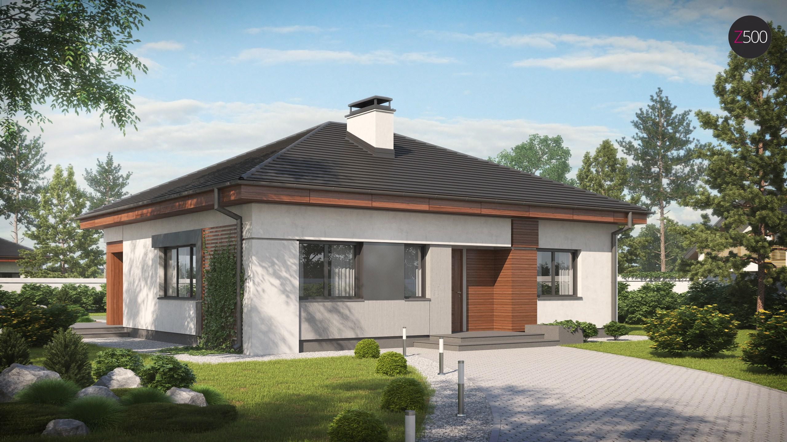 Proiect de Casa cu parter 367