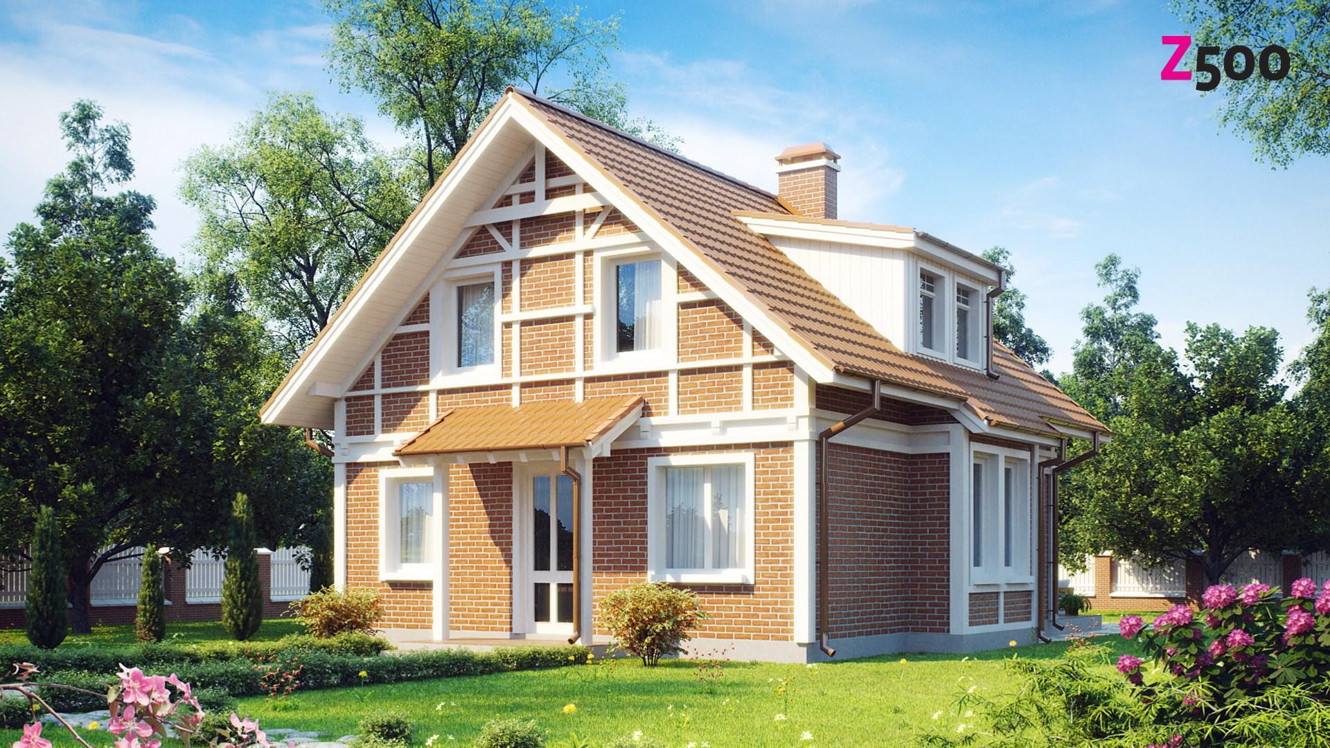 Proiect de Casa cu mansarda 309