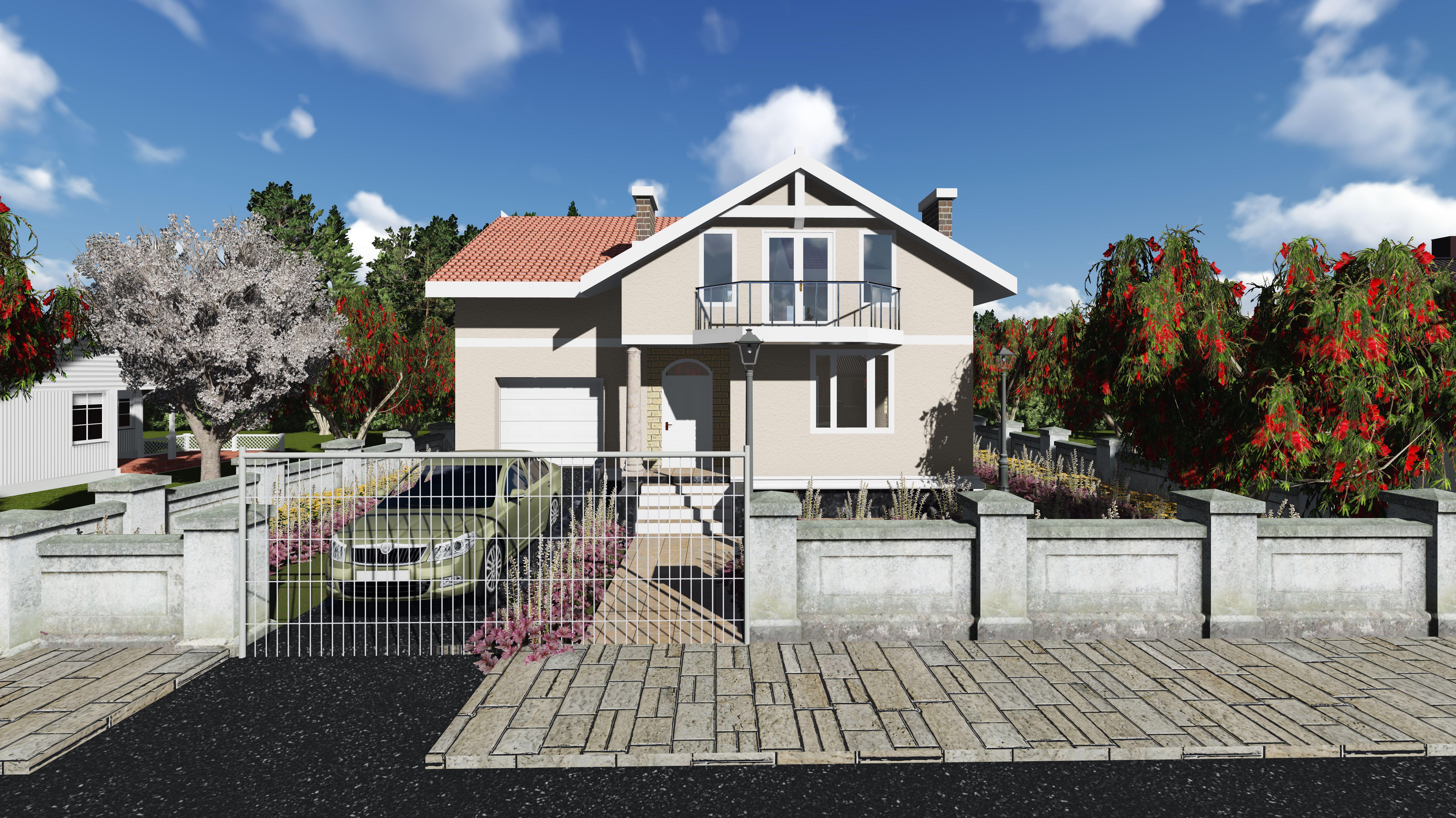 Proiect de casa cu mansarda Vatra
