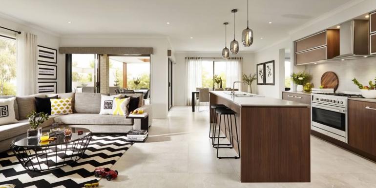 Design Bucatarie cu Sufragerie