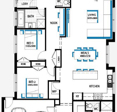 Plan etaj 1.b