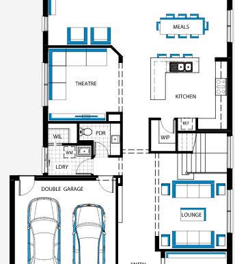 Plan etajul 1.a
