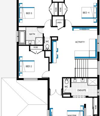 Plan etajul 2.a
