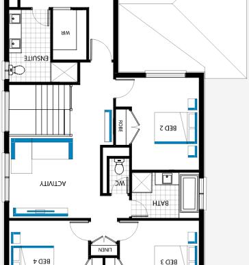Plan etajul 2.b