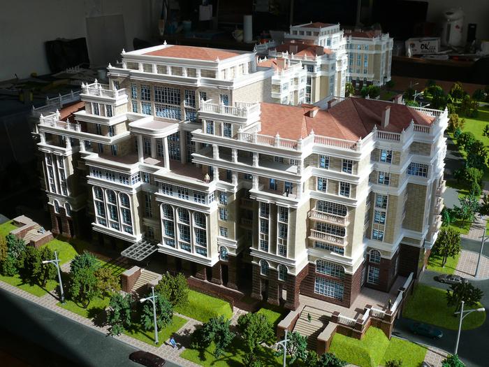 архитектурный макет 1:50 жилой комплекс www.proiectari.md