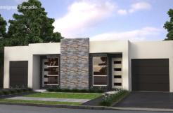 Proiect de casa duplex cu parter, www.proiectari.md