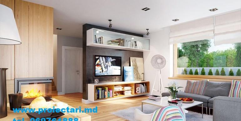 Propunere design interior Sufragerie