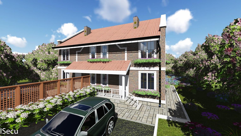 Proiect de casa de tip duplex cu parter si etaj for Proiect casa clasica b 178 m