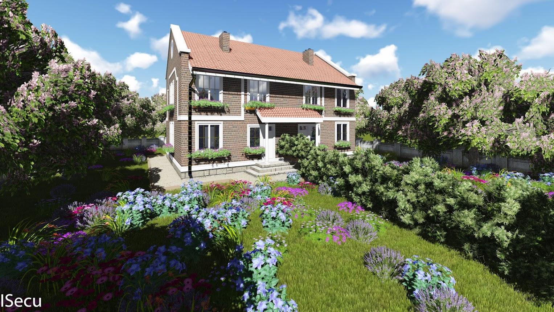 Proiect de casa de tip Duplex cu Parter si Etaj
