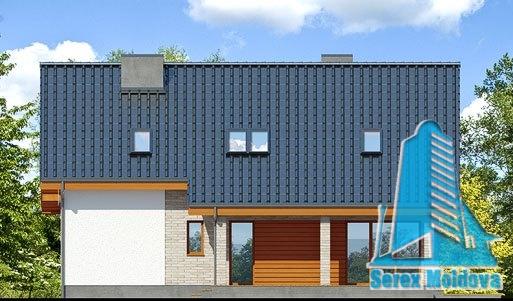proiect de casa cu parter si mansarda