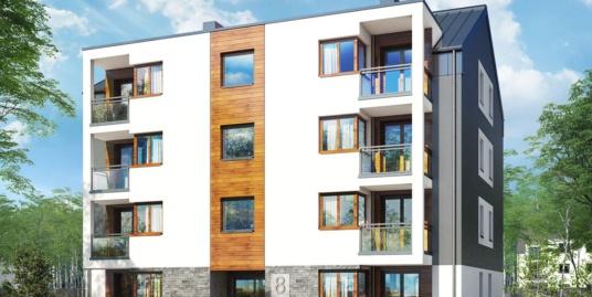 Многоквартирный дом 5-этажный 16-квартирный и подземной парковки