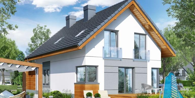 Proiect de casa cu mansarda