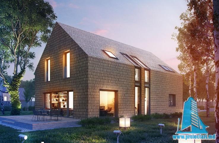 Casa de locuit cu etaj si garaj – 100569