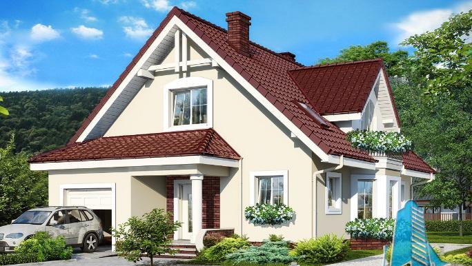 proiect-de-casa-cu-parter-mansarda-si-garaj-pentru-un-automobil 1