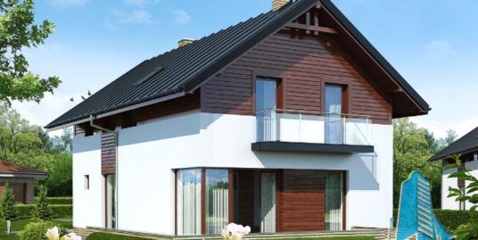 Проект жилого дома двухэтажный -100597