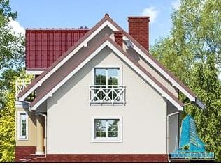 proiect-de-casa-cu-mansarda-si-garaj-pentru-doua-automobile fatada-2