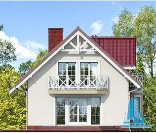 proiect-de-casa-cu-mansarda-si-garaj-pentru-doua-automobile fatada-3