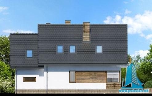 proiect-de-casa-cu-parter-mansarda-si-garaj-pentru-un-automobil fatada-4