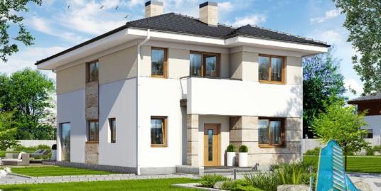 Proiect de casa cu etaj -100697
