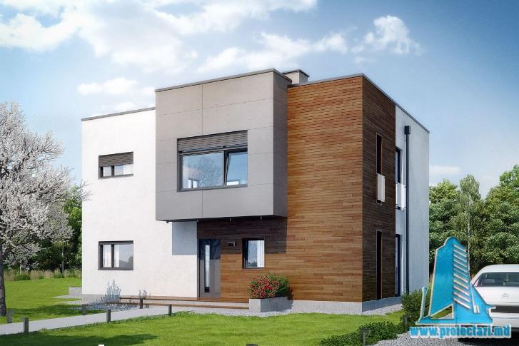 Proiect de casa cu etaj-100713