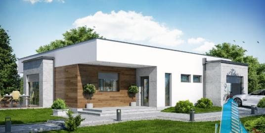 Proiect de casa cu parter si garaj pentru un automobil-100654