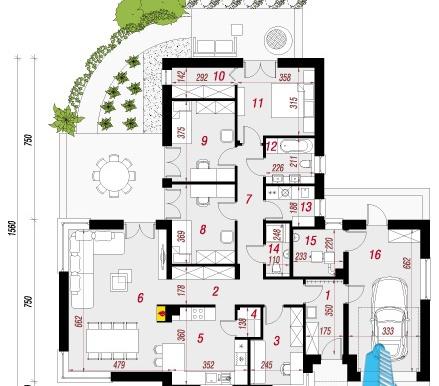 proekt-doma-s-parterom-i-garazhom-dlya-odnogo-avtomobilya