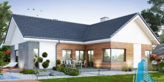 Proiect de casa cu parter si garaj pentru un automobil-100683