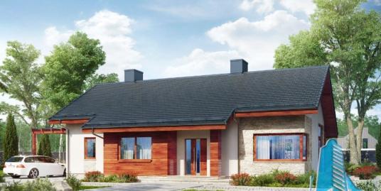 Proiect de casa cu parter -100666