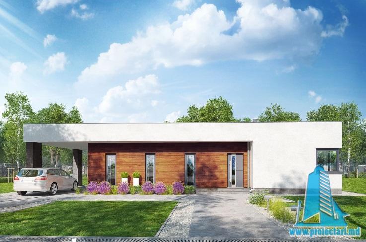 Proiect de casa cu parter – 100656