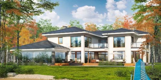 Proiect de casa cu parter si cu etaj-100636