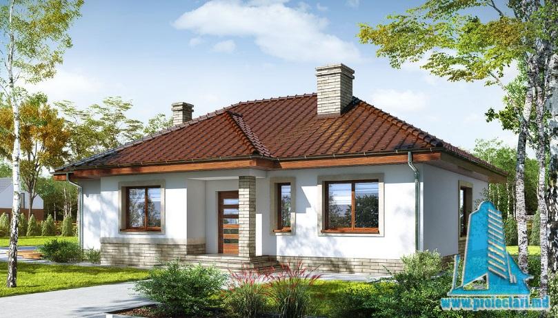 Proiect de casa cu parter -100669