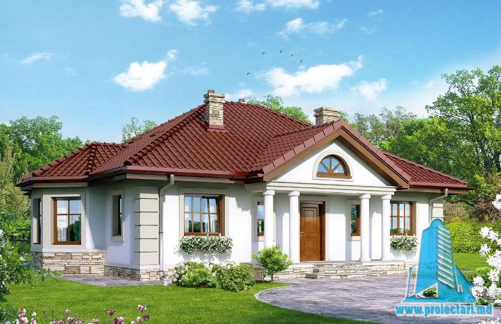 Proiect de casa cu parter -100692