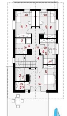 proiect-de-casa-cu-parter-etaj-si-garaj-pentru-doua-automobile-etaj
