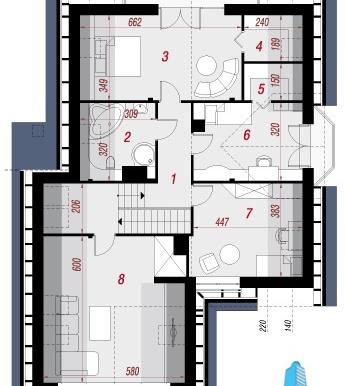 proiect-de-casa-cu-parter-mansarda-si-garaj-pentru-doua-automobile-mansarda