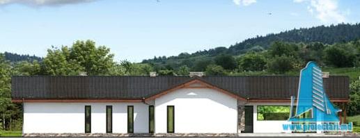 fatada-2 Proiect de casa cu parter