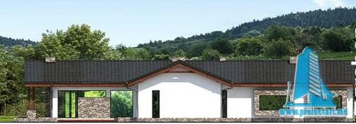 fatada-3 Proiect de casa cu parter